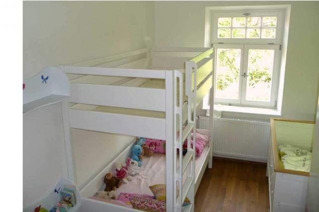 Etagenbett KINTO aus weiß lackiertem Holz
