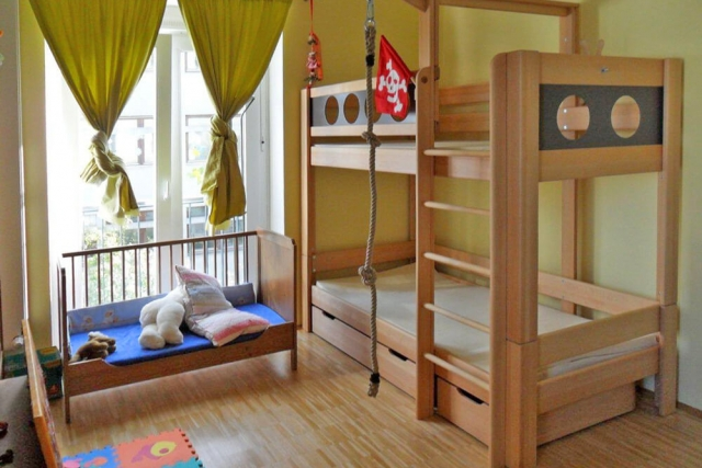 Kinderzimmer mit Etagenbett DeLuxe<br/>..