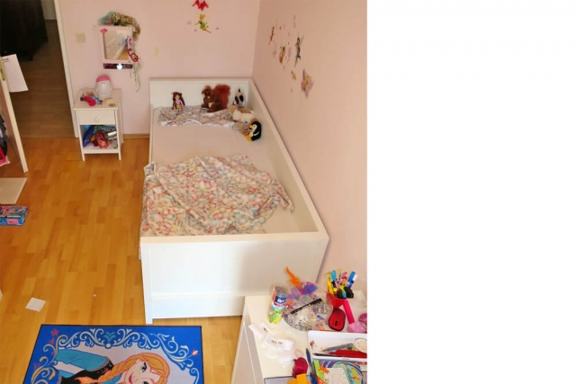 Mädchenzimmer mit einem NESTbett