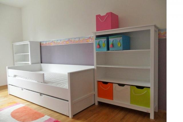 Kinderzimmer mit weiß lackierten Möeln von SALTO in München