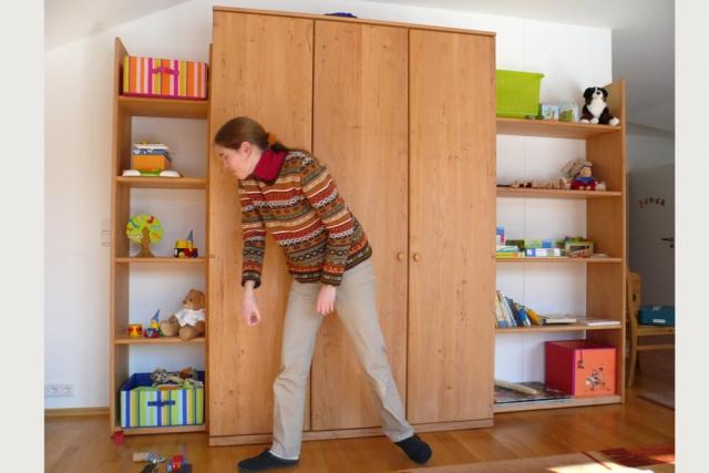 Kinderzimmer mit Naturholz-Möbeln von TEAM7