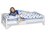 Kinderbett PICCO 180cm aus massivem Buchenholz