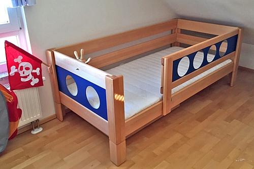 Kinderbett Marine Buche
