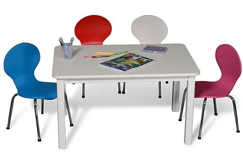 Kinderstuhl CLASSIC, farbig lackiert / SALTO Kindermöbel / München