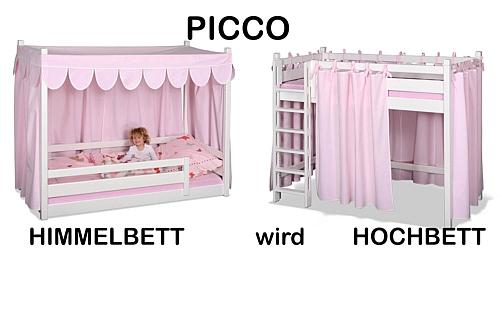weisses-himmelbett-wird hochbett-picco-rosa-kinderbett