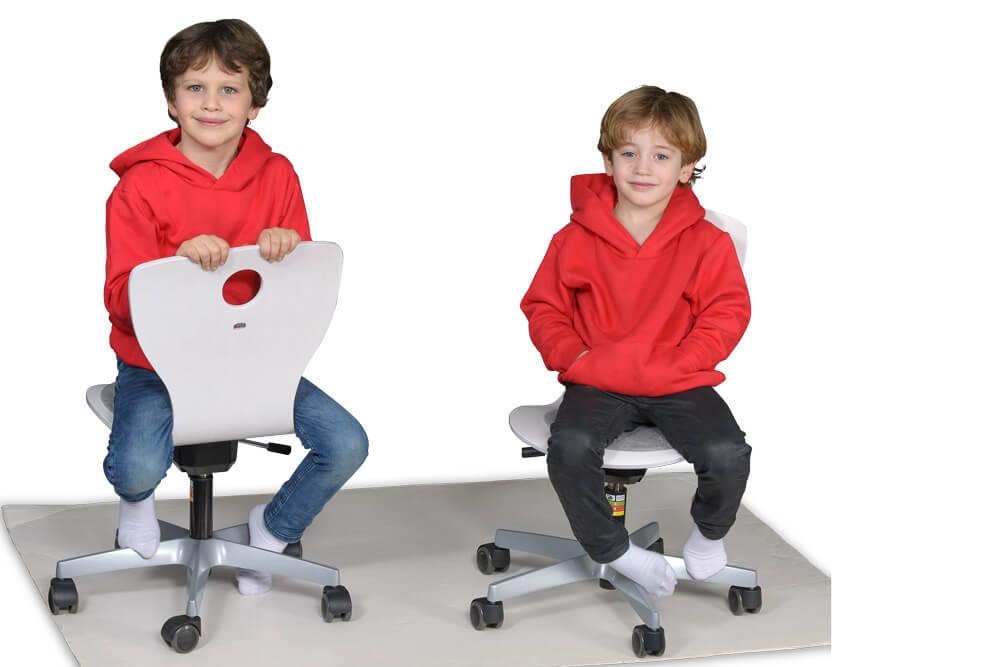 Kinderstuhl Drehstuhl für Schulanfänger