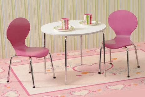 Kinderstuhl CLASSIC, farbig lackiert. Hersteller: SALTO