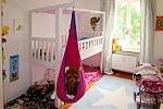 mitwachsendes Kinderbett LISTO-flex, Spielbett aus weiß lackiertem Buchenholz