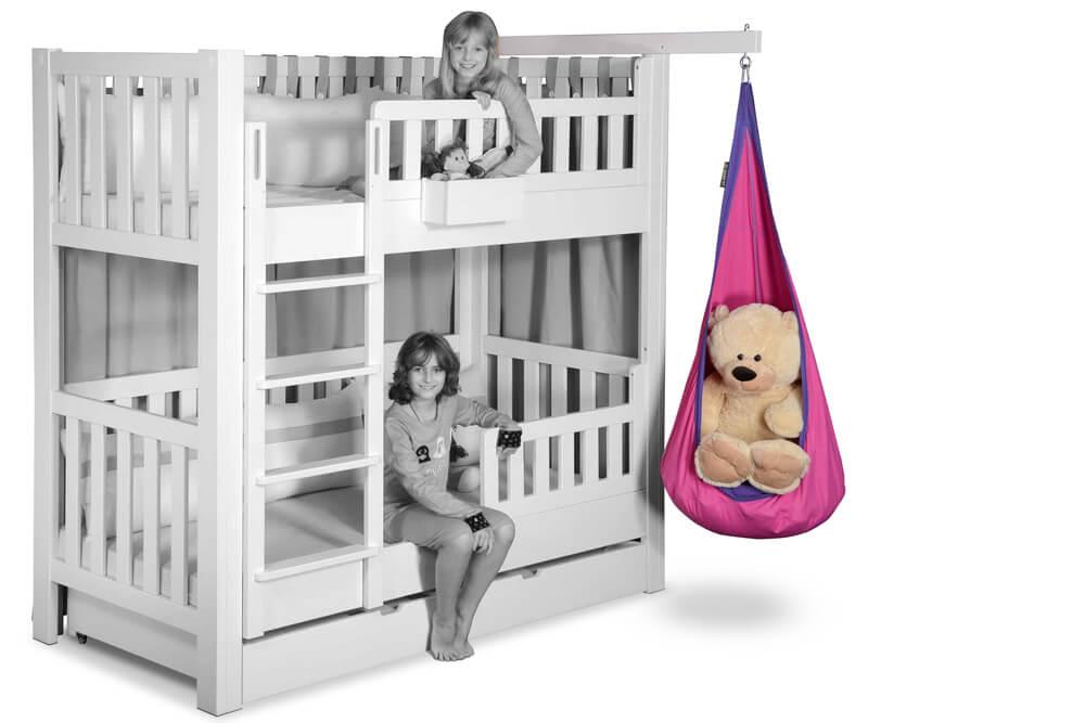 Kinderbett Zubehör Hängesitz pink