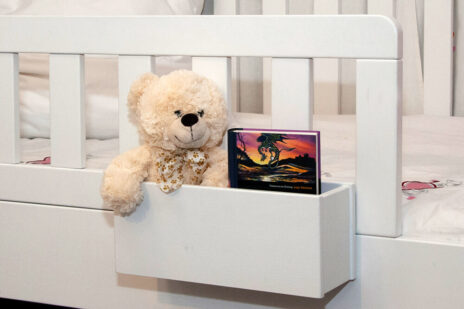 Hängebox als Zubehör zu unseren Kinderbetten / SALTO Kindermöbel / München
