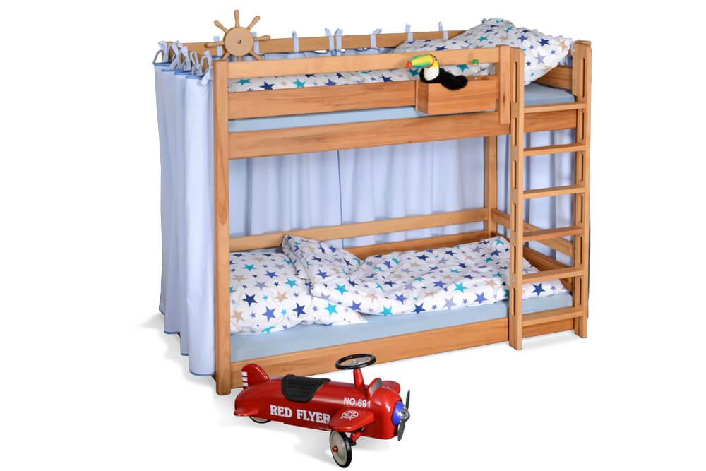 Etagenbett Verschönern : Etagenbett picco cm buche das ideale stockbett für kleine zimmer