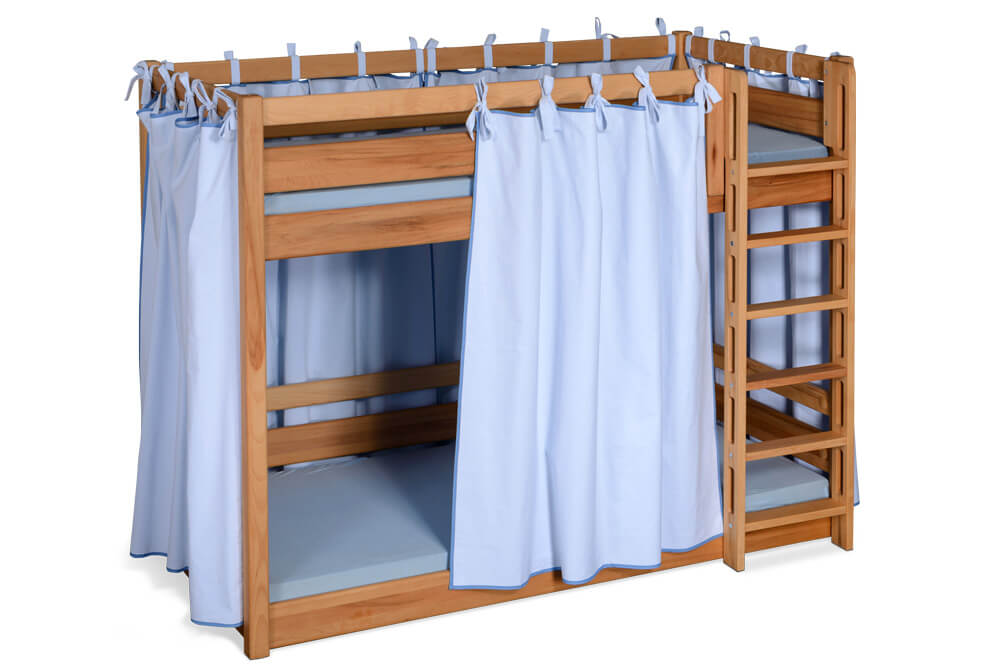 Etagenbett Buche Extra : Kinder etagenbett mit sitzbänken buche hochbett kinderbett