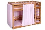 Kinderbett Etagenbett PICCO 180cm, aus massivem Buchenholz