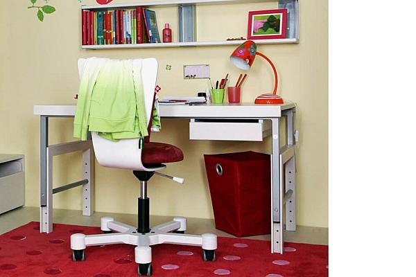 ziggy basic der wei e massivholz schreibtisch. Black Bedroom Furniture Sets. Home Design Ideas
