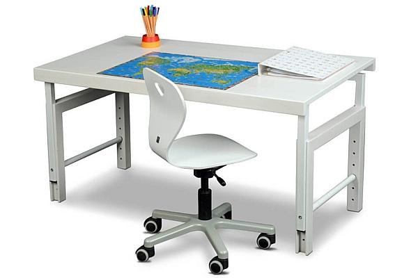 Kinder-Schreibtisch Ziggy  basic, weiß