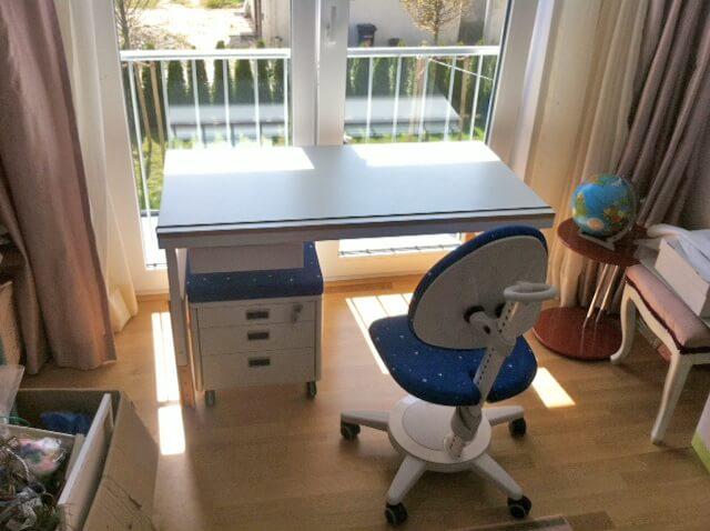Ziggy Basic Der Weisse Massivholz Schreibtisch Kinderzimmer 24 De