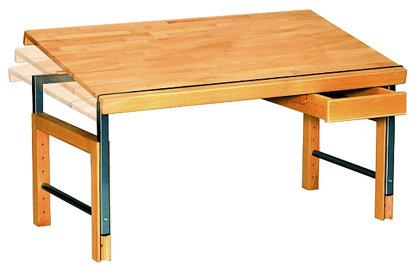 Schreibtisch ZIGGY basic, buche