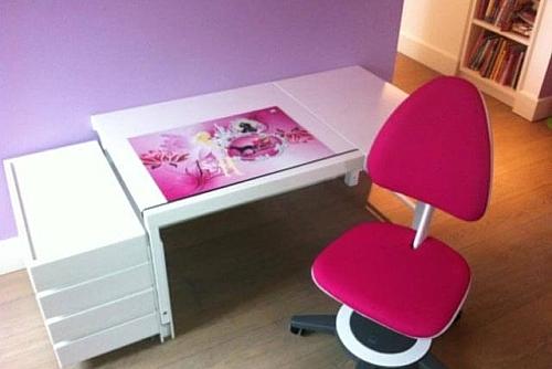 der weiße Kinder-Schreibtisch Ziggy comfort