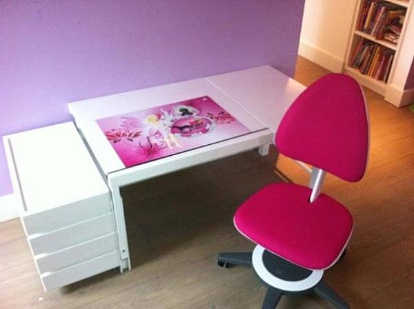 Kinder-Schreibtisch Ziggy  comfort, weiß