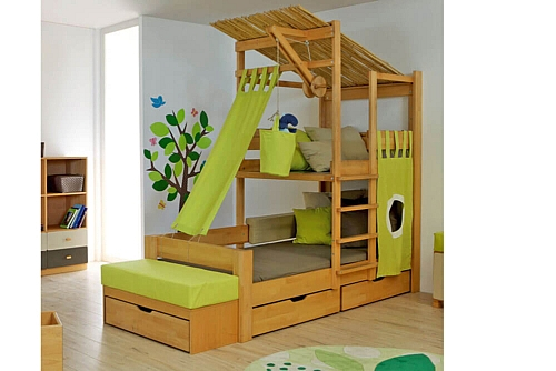 exklusive hochbetten und etagenbetten stockbetten kinderzimmer. Black Bedroom Furniture Sets. Home Design Ideas