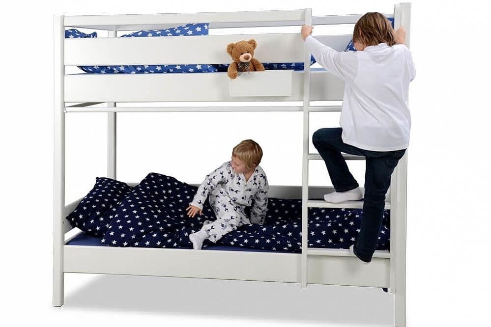 Etagenbett Gute Qualität : Kinder etagenbetten spark aus massivholz mit auszieh lattenrost