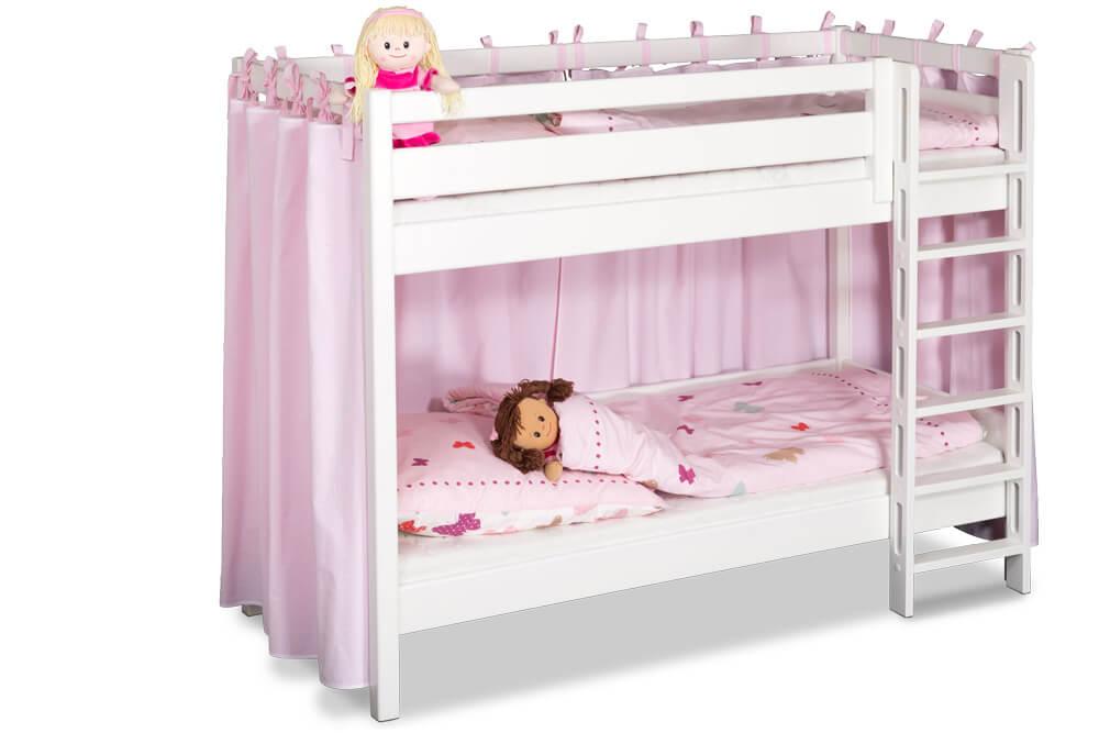Etagenbett Verschönern : Etagenbett picco cm weiß das ideale stockbett für kleine zimmer