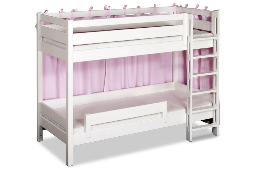 etagenbett picco 180cm wei das ideale stockbett f r kleine zimmer. Black Bedroom Furniture Sets. Home Design Ideas