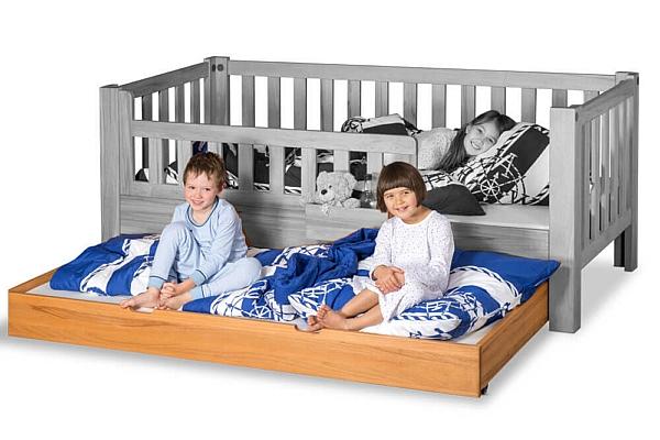 Kinderbett Listo Gästebett Buche