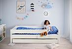 Kinderbett mit Gästebett / Modell KINTO / SALTO Kindermöbel München
