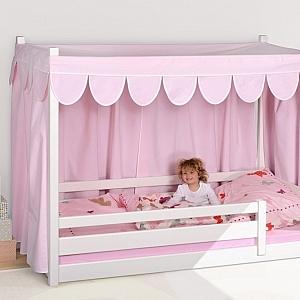 Hausbett PICCO in Rosa, Montessori Bett, / SALTO Kinderbetten aus München