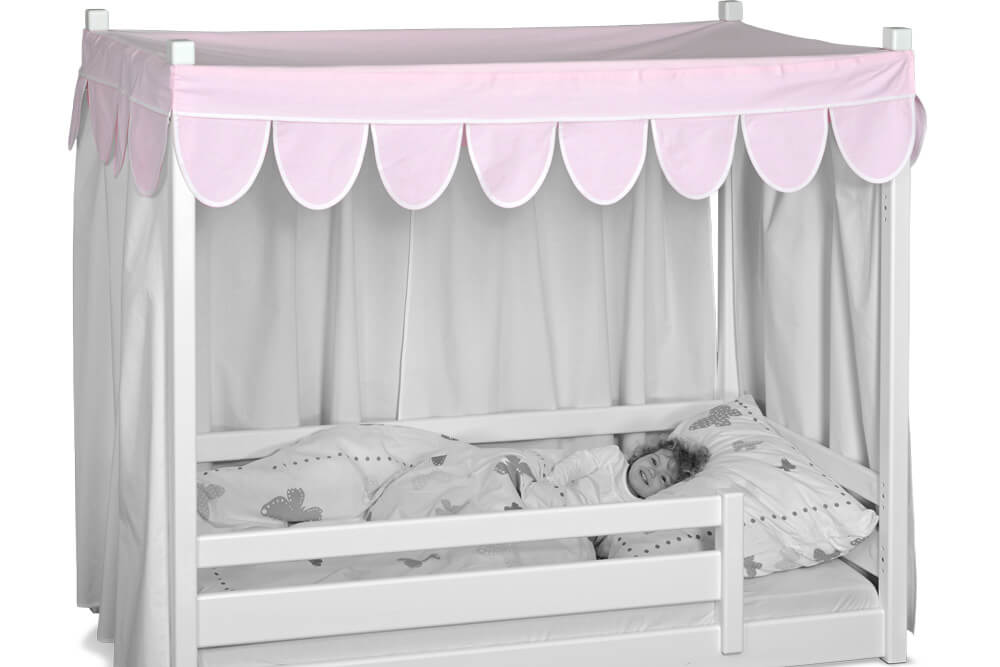 betthimmel f r das himmelbett picco 180cm kinderzimmer. Black Bedroom Furniture Sets. Home Design Ideas