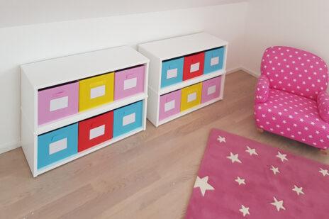 Kinderzimmer Regals KINTObox / SALTO Kindermöbel München