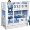 Hochbett Vorhang LISTO blau / Kinderbetten SALTO München
