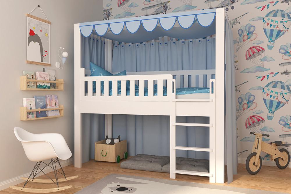 Kinderbett LISTOflex als Spielbett 7 / SALTO Kinderbetten in München