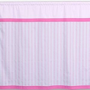 3-seitiger Bettvorhang für das Hochbett KINTO. Hersteller: SALTO Kindermöbel, München.