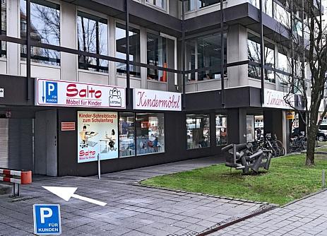 Parken bei SALTO Kindermöbel München