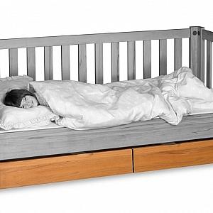 Bettschublade Zubehör zu LISTO oder KINTO Kinderbetten