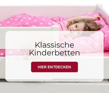 klassische Kinderbetten