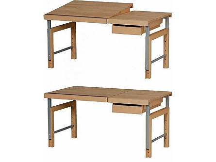 Kinder-Schreibtisch ZIGGY comfort, buche