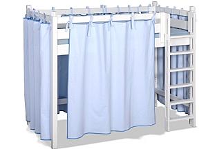 Bettvorhang für die Kinderbetten PICCO. Hersteller: SALTO Kindermöbel, München