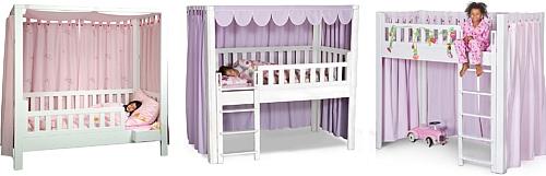 mitwachsendes Kinderbett LISTOflex / SALTO Kindermöbel / München