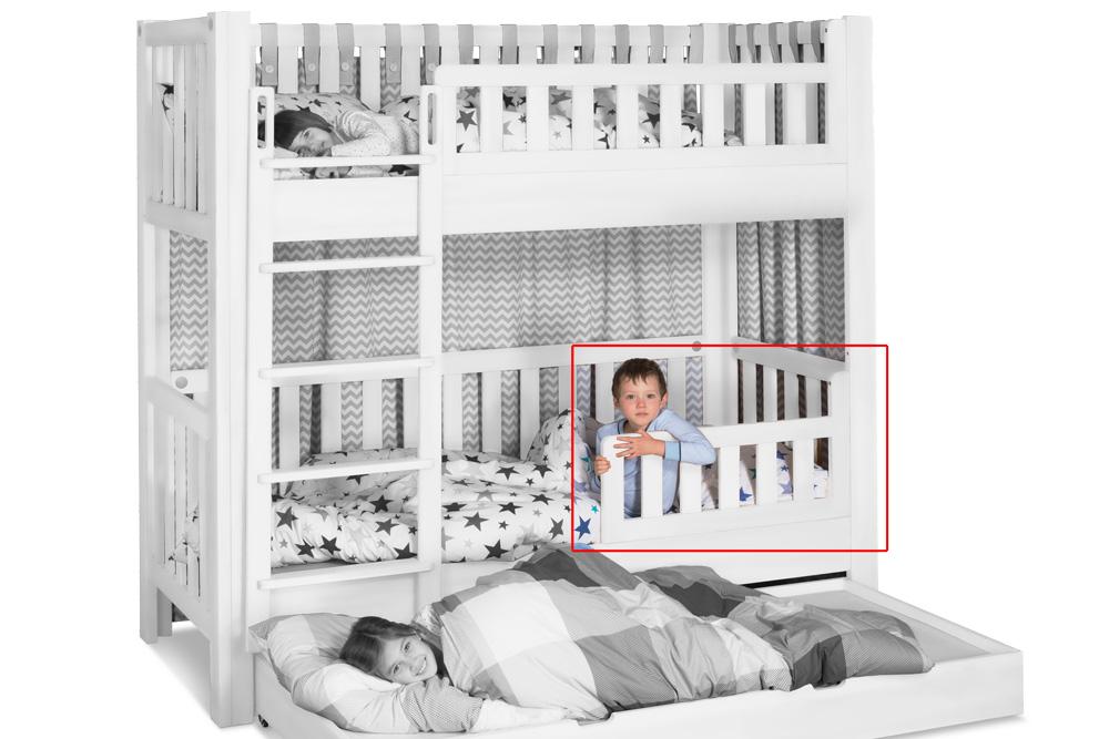 Kinderbett LISTOflex Frontschutz klein / SALTO Kindermöbel / München